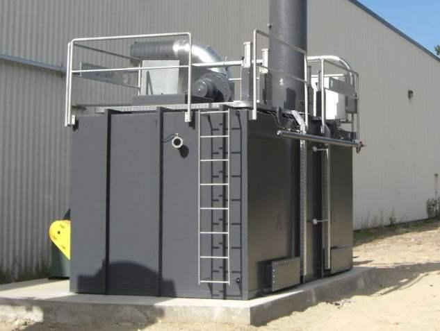Regenerative Thermal Oxidizer Installation #1369