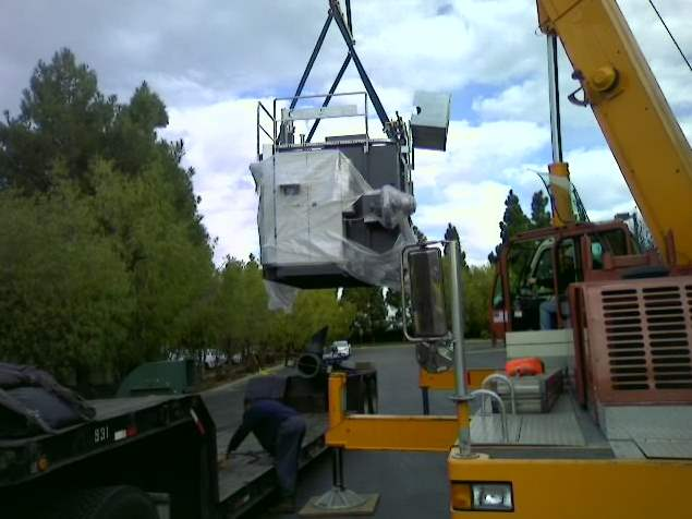 Regenerative Thermal Oxidizer Installation #1405