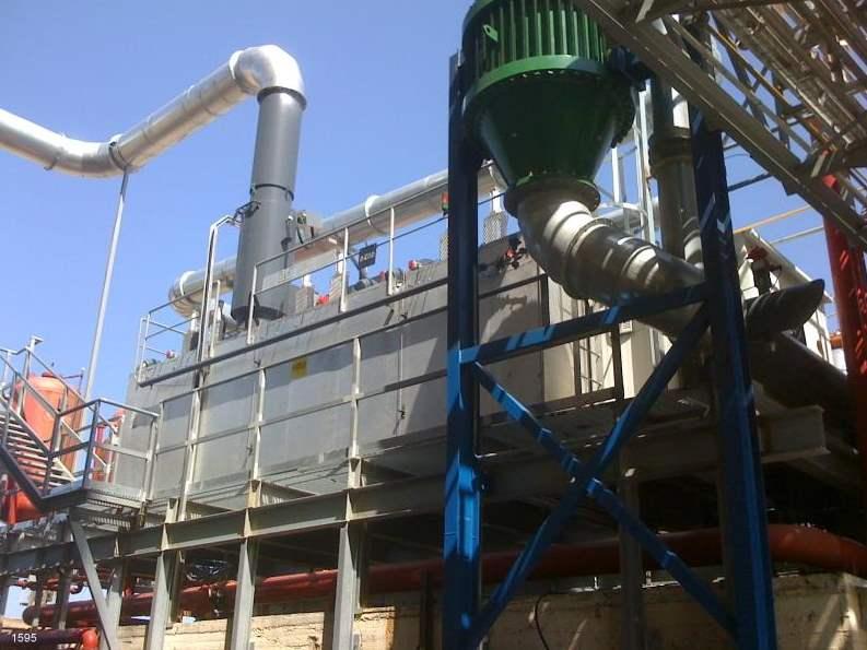 Regenerative Thermal Oxidizer Installation #1595