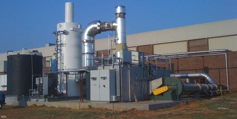 Regenerative Thermal Oxidizer Installation #1625