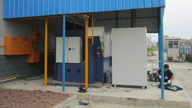Regenerative Thermal Oxidizer Installation #1628