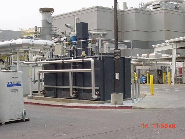 A 4,000 SCFM TRITON™ Regenerative Thermal Oxidizer. Installed by customer.