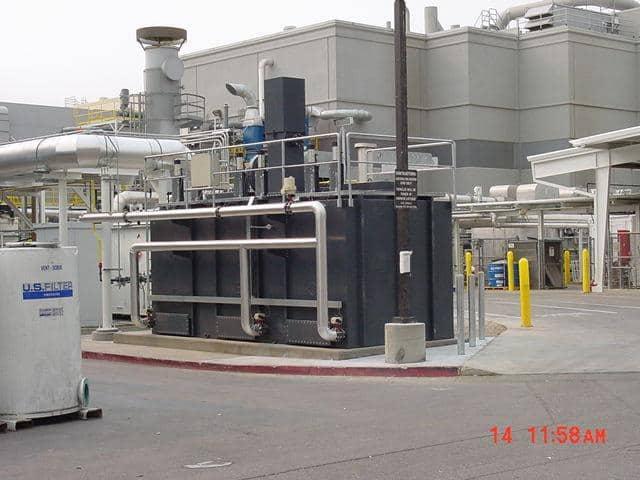 A 4,000 SCFM TRITON™ Regenerative Thermal Oxidizer. Installed by customer.