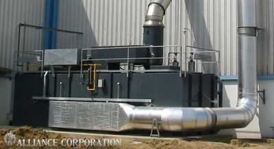 Alliance Corp's Regenerative Thermal Oxidizers Designed and Built in the USA! #1296