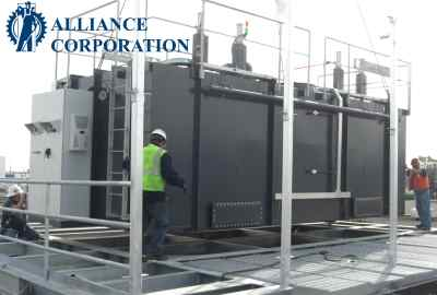 Alliance Corp's Regenerative Thermal Oxidizers Designed and Built in the USA! #1597