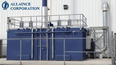 Alliance Corp's Regenerative Thermal Oxidizers Designed and Built in the USA! #1619