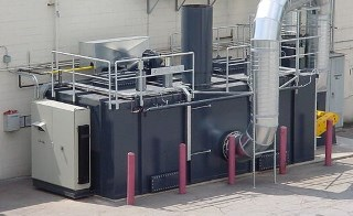 Alliance Corporation Manufacturer of Regenerative Thermal Oxidizers (RTOs) as Seen in the Field
