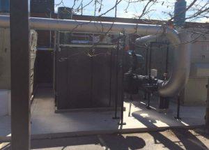 Regenerative Thermal Oxidizer Installation #1869