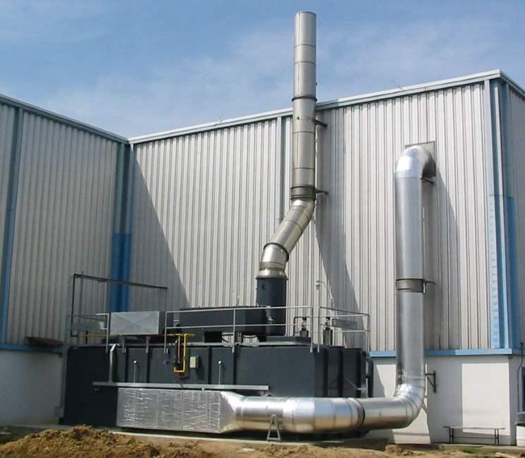 Regenerative Thermal Oxidizer Installation #1296