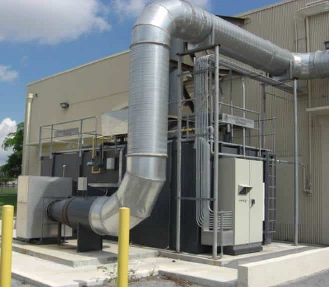 Regenerative Thermal Oxidizer Installation #1314