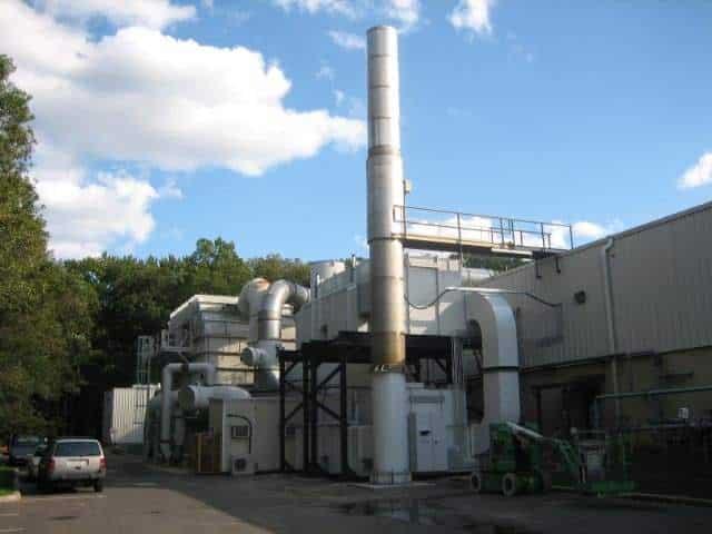 Regenerative Thermal Oxidizer Installation #1329
