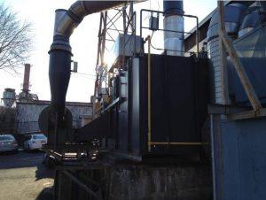 Regenerative Thermal Oxidizer Installation #1373