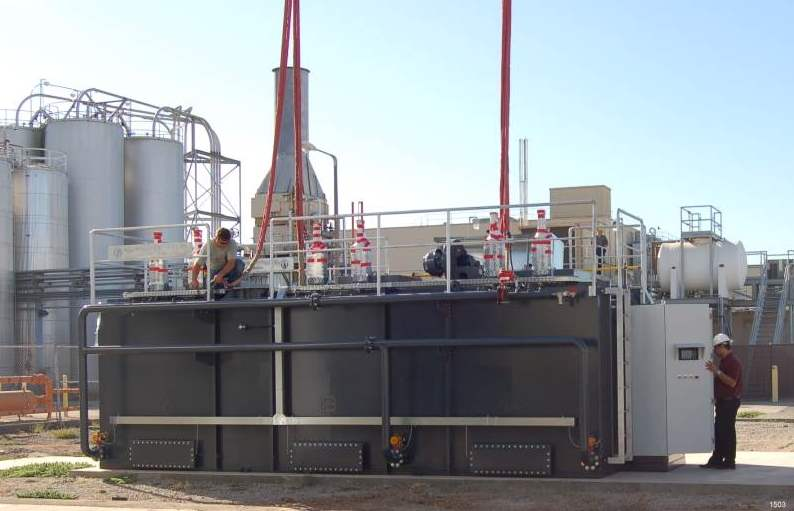 Regenerative Thermal Oxidizer Installation #1503