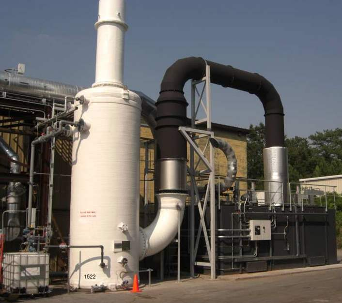 Regenerative Thermal Oxidizer Installation #1522
