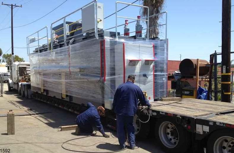 Regenerative Thermal Oxidizer Installation #1592