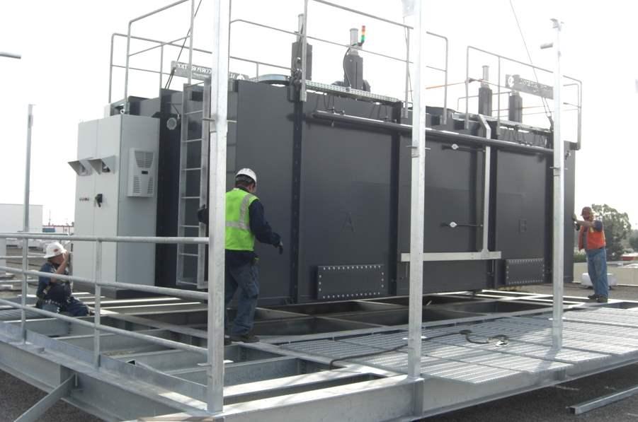 Regenerative Thermal Oxidizer Installation #1597-b