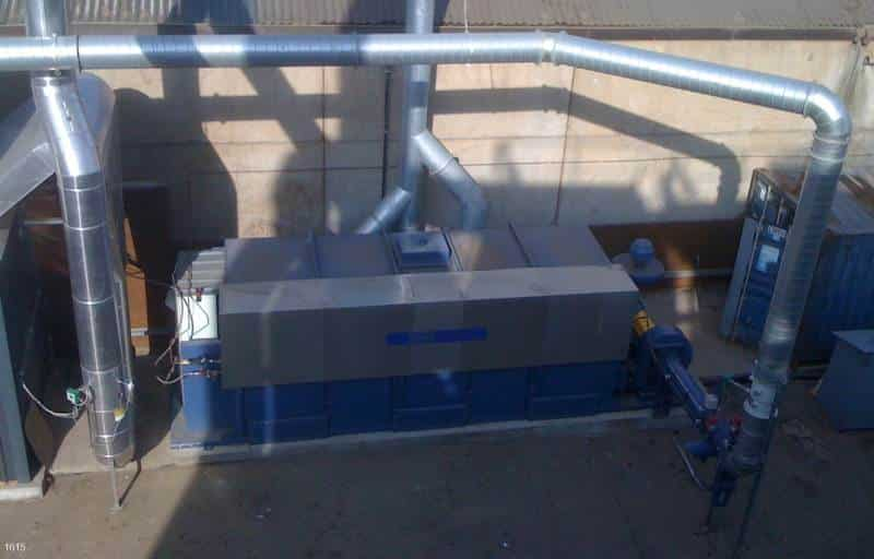 Regenerative Thermal Oxidizer Installation #1615