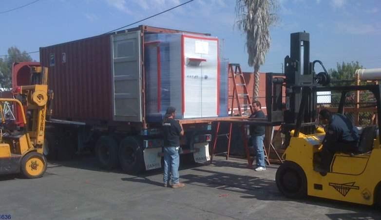 Regenerative Thermal Oxidizer Installation #1636
