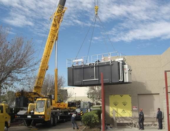 Regenerative Thermal Oxidizer Installation #1651