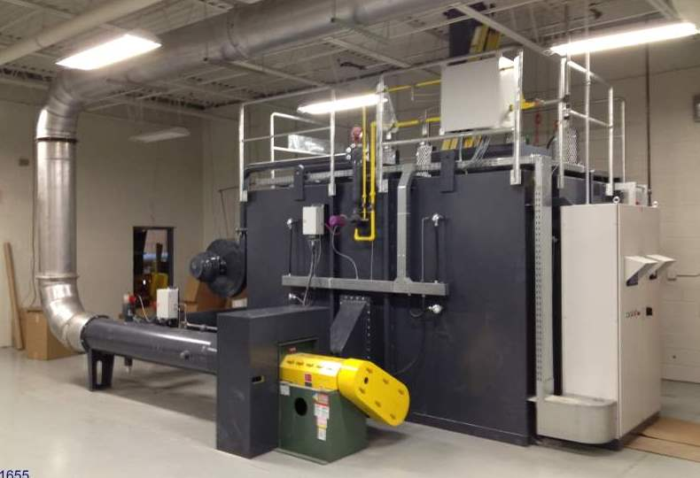 Regenerative Thermal Oxidizer Installation #1655