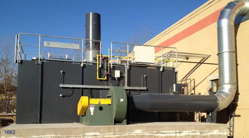 Regenerative Thermal Oxidizer Installation #1662