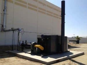 Regenerative Thermal Oxidizer Installation #1713