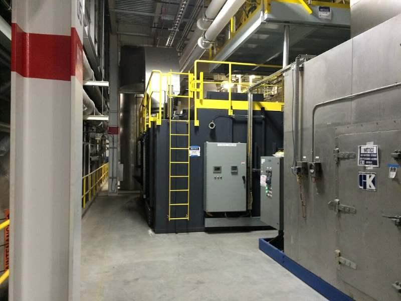 Regenerative Thermal Oxidizer Installation #1860