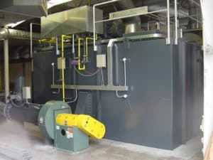 Regenerative Thermal Oxidizer Installation #1072 Solar Panel Manufacturer in Hillsboro, OR